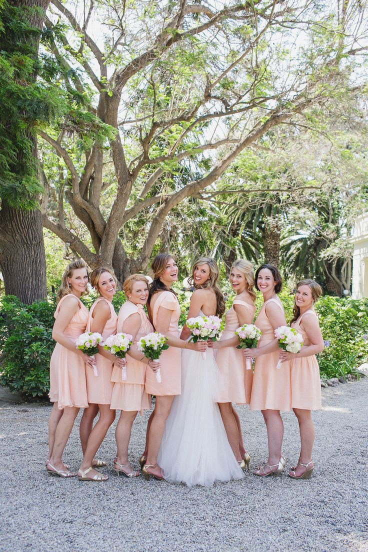 #Bridesmaids all pretty in pink | Photography: www.jasmine-star.com