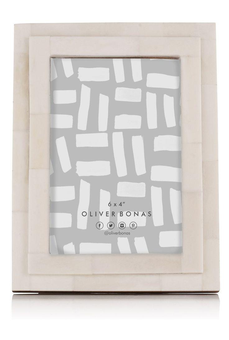 Isla Natural Bone Frame by Oliver Bonas