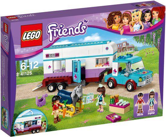 LEGO Friends Paardendokter Trailer - 41125