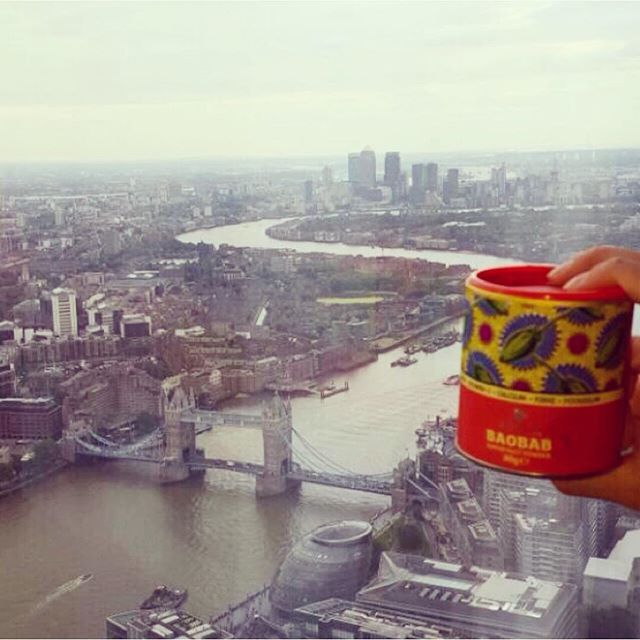 Baobab's taking London by storm! It definitely brings some vibrancy to the grey... Have you tried the hottest superfood in the capital yet? | aduna.com
