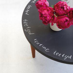1000 ideas about chalkboard coffee tables on pinterest