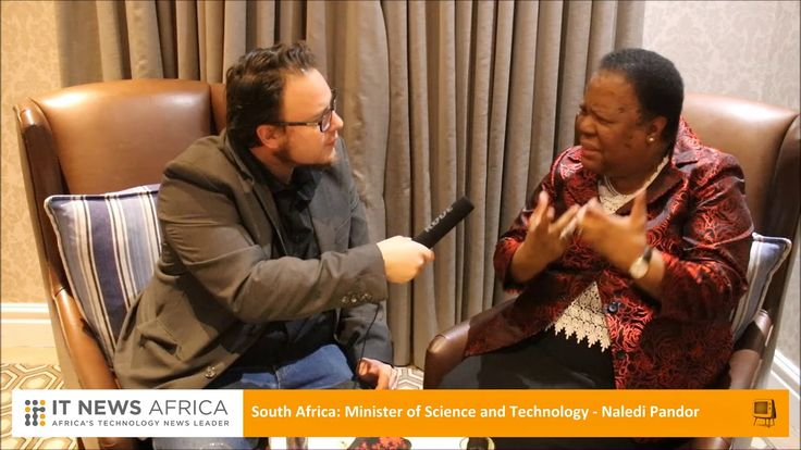 Naledi Pandor discusses the importance of the TT100 Awards