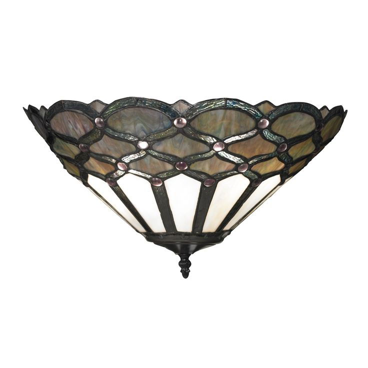 "16"" Gameroom 2 Light Sconce In Tiffany Bronze"