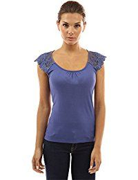 New PattyBoutik Women's Floral Lace Crochet Shoulder Sleeveless Top online. Find the perfect DRESSOLE Tops-Tees from top store. Sku HZLW93457XFKB57949