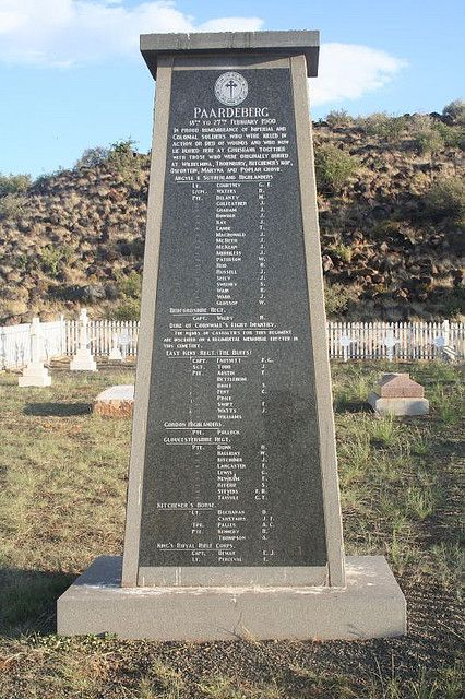 Gruisbank Garden of Remembrance (Battle of Paardeberg)