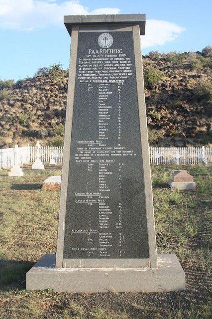 Gruisbank Garden of Remembrance (Battle of Paardeberg)