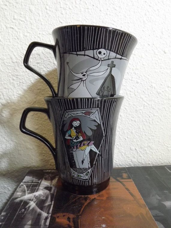 Hey, I found this really awesome Etsy listing at http://www.etsy.com/listing/151924065/nightmare-before-christmas-mugs