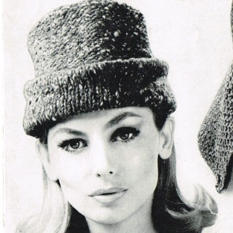 Knitting Pattern Vintage Hat : 143 best images about Vintage Knitted Hats on Pinterest ...