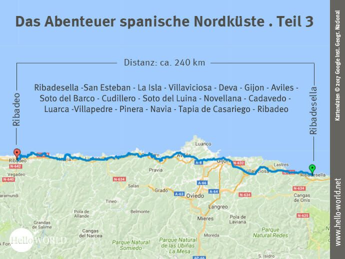 Camino Del Norte Etappe 3 Reisebericht Landkarte Und Abenteuer