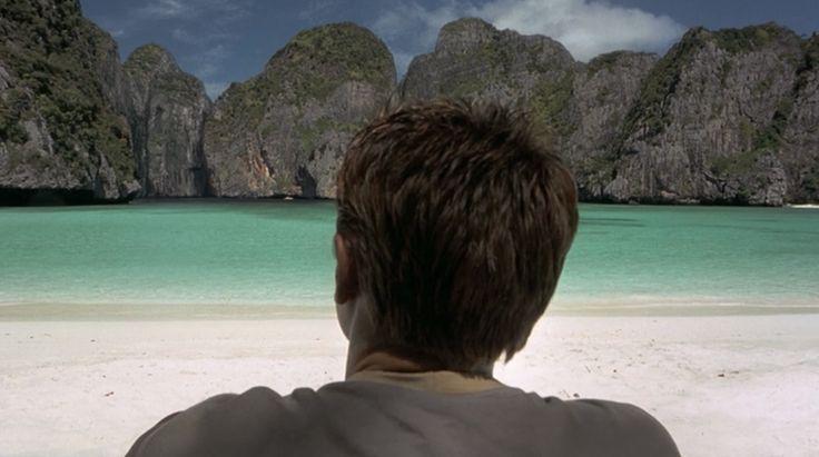 La playa, Leornado DiCaprio. Koh Phi Phi