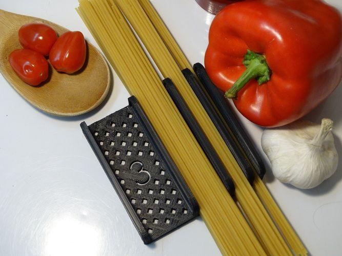 Spaghetti Portions Size 3D Print 6709