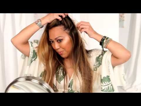 How To Use Dry Shampoo - YouTube