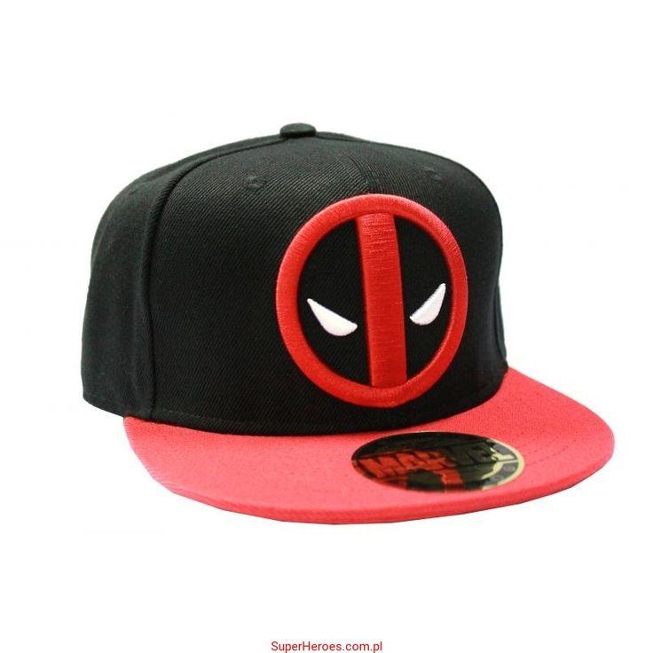 Czapka Deadpool z daszkiem