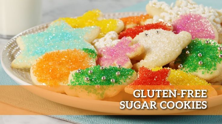 These delicious little Gluten-Free Sugar Cookies are sure to make your table shine just a little brighter during the holidays!  You can also check out CheckOut 51 for savings on the ingredients for this recipe!   Sparkle on with the recipe here: https://www.makegood.ca/content/gluten-free-sugar-cookies  #makegood #recipe #food #cookies #dessert #glutenfree #holiday #christmas #baking #diy