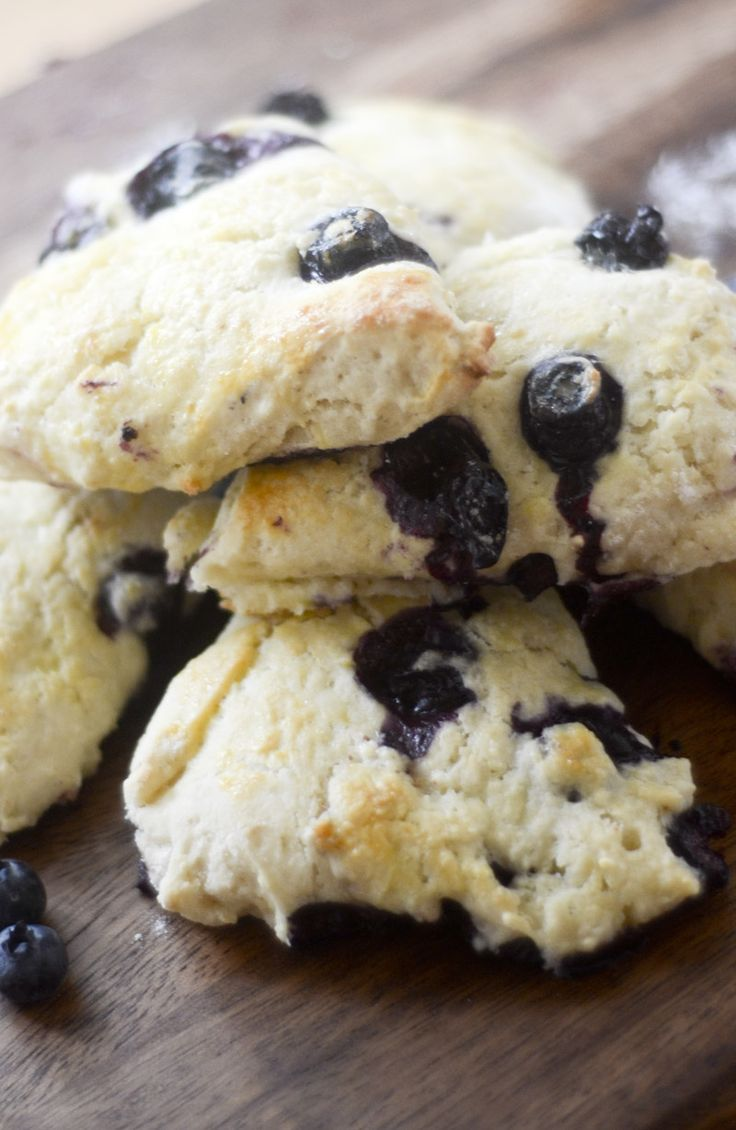 TRIED AND TRUE - super yummy!!  Weight Watcher's Blueberry Scones  Points Plus: 3 (for 1 wedge, makes 6)