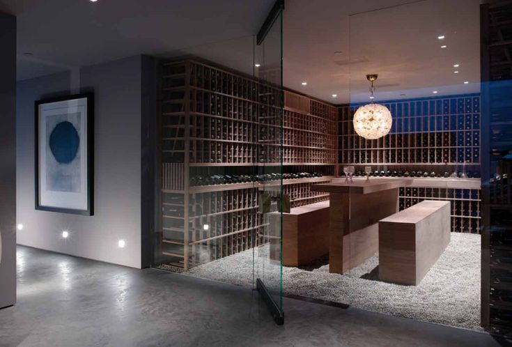 Modern wine cellar wine cellars pinterest for Wine cellar pinterest