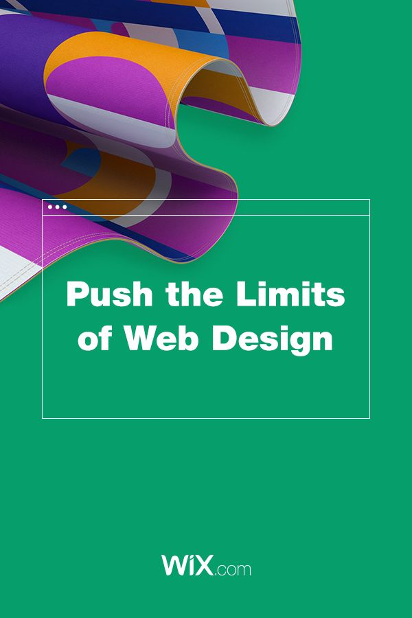 Push the Limits of Web Design