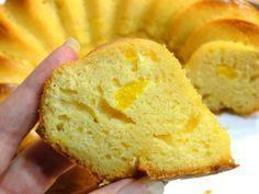 Receta fácil de bizcocho de naranja sin azúcar, saludable y apto para diabéticos y dietas ✓. Jugoso y muy esponjoso, ¡no te lo pierdas!