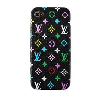 Louis Vuitton iPhone 4 Case iPhone 4S Case Monogram Black