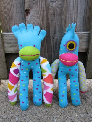 Sock Monsters & Glove Puppies. I need some of... | Wallace Gardens