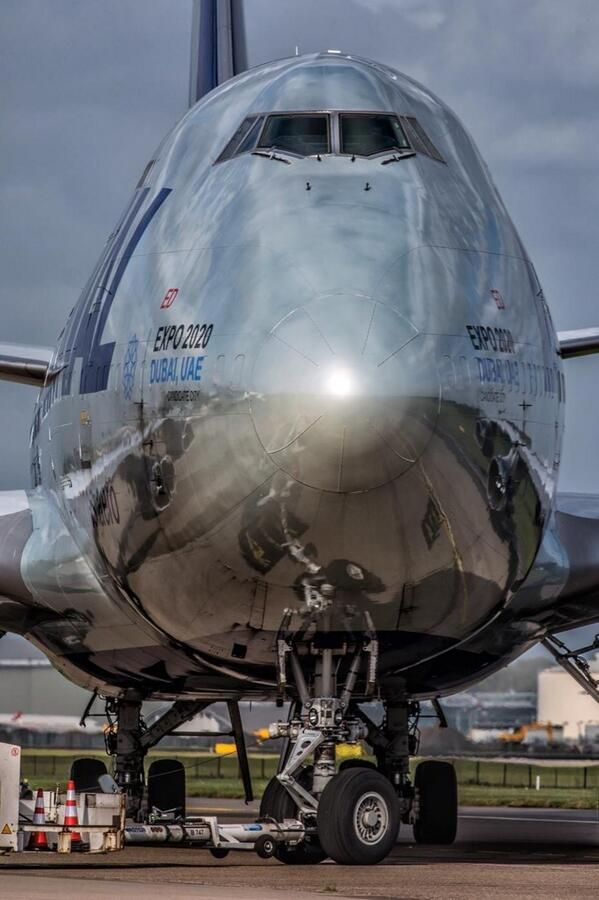 National B747 freighter