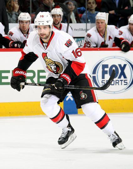 Clarke MacArthur #16 Ottawa Senators