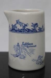 Vintage Lighthouse Restaurant Advertising Individual Creamer M 10 | eBay