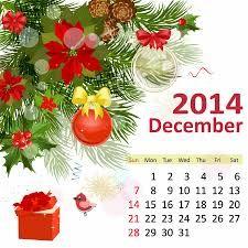 December 2014 Calendar Printable & Template http://www.calendarvip.com/december-calendar.html