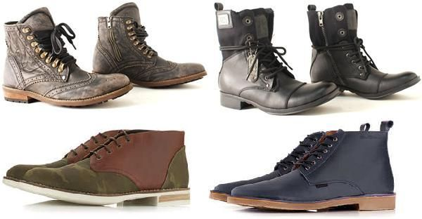 Модная обувь мужская осень