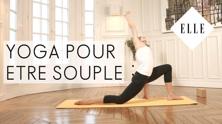 Cours de Yoga pour être souple - ELLE Yoga - YouTube