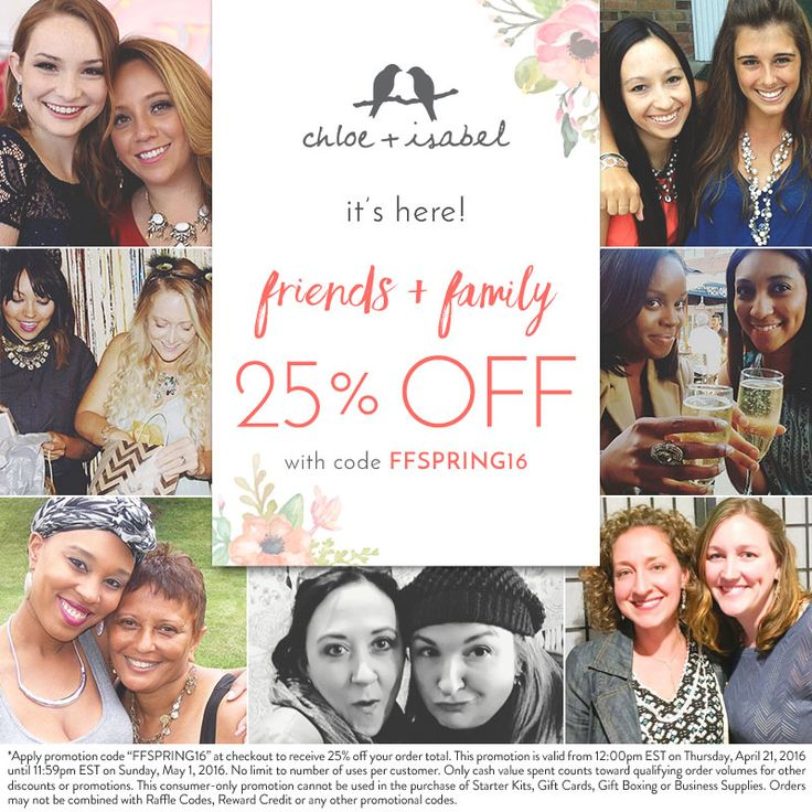 25% off all purchases through May 1st! Don't forget about Mother's Day!