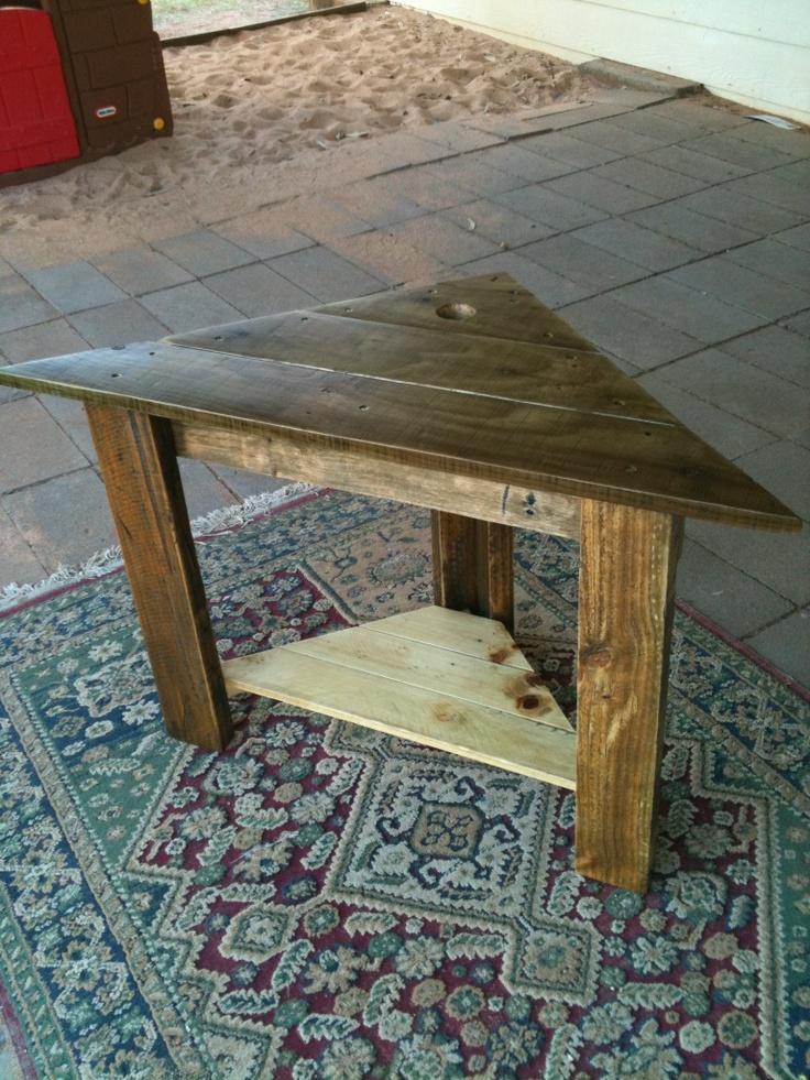 corner table Corner TableCorner ShelfWooden TablesWood FurnitureAntique