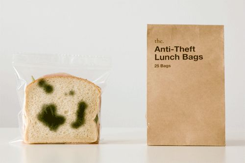 Great idea! Keep people from stealing your lunch