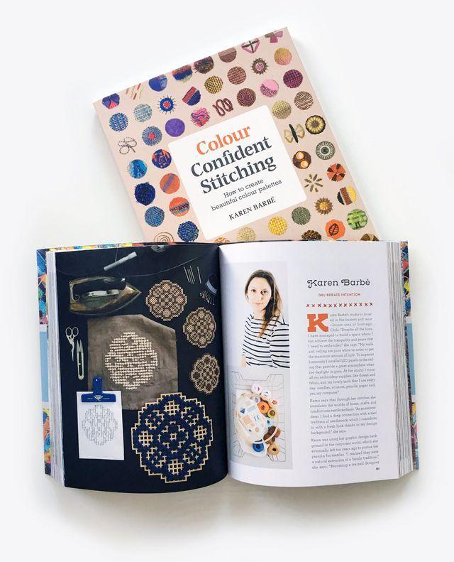 Karen Barbé: Colour Confident Stitching