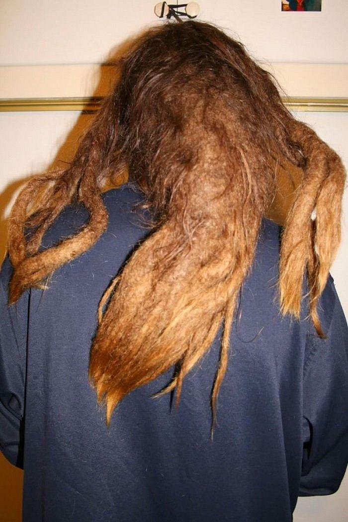 Люди которые не слышали о мытье волос   korabox.ru