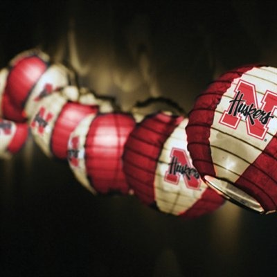 #UltimateTailgate #Fanatics Nebraska Cornhuskers Team Lanterns & Lights Set