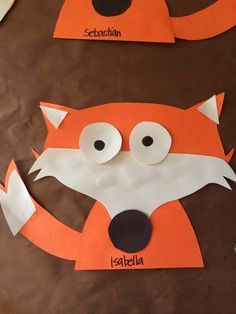Fox preschool art