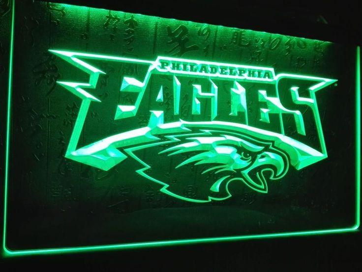 LD054- Philadelphia Eagles Football LED Neon Light Sign