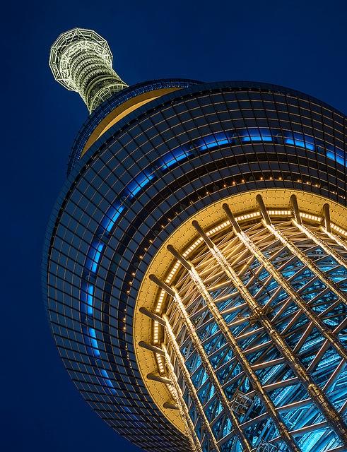 Tokyo sky tree - 2 by Bernard Languillier, via Flickr