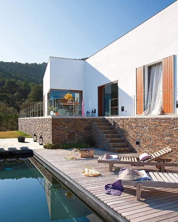 Une maison faite pour le repos