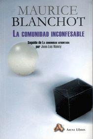 La comunidad inconfesable - Maurice Blanchot  http://etsamdoctorado.files.wordpress.com/2012/12/blanchot-maurice-la-comunidad-inconfesable.pdf  Comunidad y comnismo