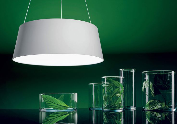 Oxygen - A ring shining from within, a true synthesis of form and essence. It is the emblem of the difficult art of simplicity, a breath of fresh air away from all that is unnecessary. #design #lighting