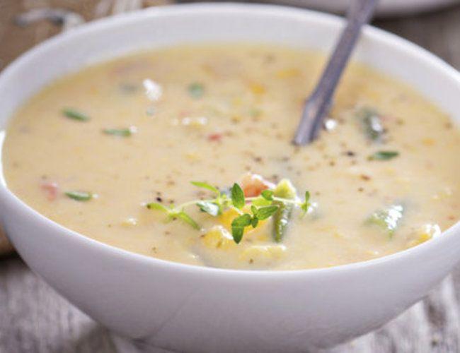 Käse Lauch Suppe vegetarisch   erdbeerlounge.de