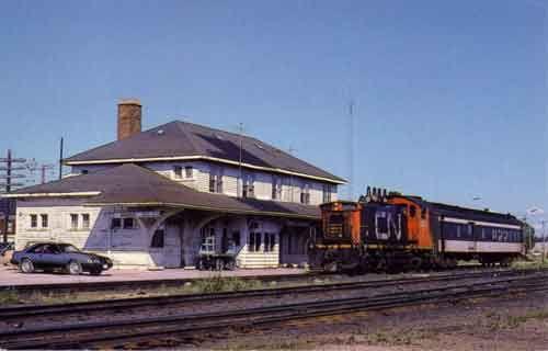 Nakina Canadian National Railway Publisher: JBC Visuals, Toronto, Photo: Bill Lumley, 1983