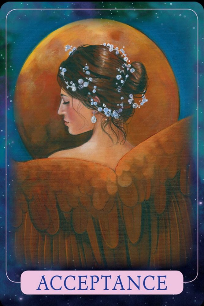 Acceptance from the Indigo Angel Oracle. Today, rather than fight or struggle, accept the things that aren't working in your life. Embrace that these areas are especially challenging. Give gratitude for the opportunity to learn something new about your soul. Understand that sometimes we learn more when challenged, then we do when life is easy. Accept, embrace, forgive, let go. #accept #challenges