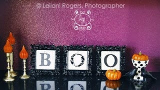 Fabrics Letters, Halloween Decor, Fall Decor, Mantel Decor, Tables Tops Decor, Cute Halloween, Boos Frames, Pictures Frames, Halloween Ideas