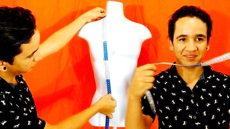 Introdução à costura: Como tirar medidas [ aula 2]