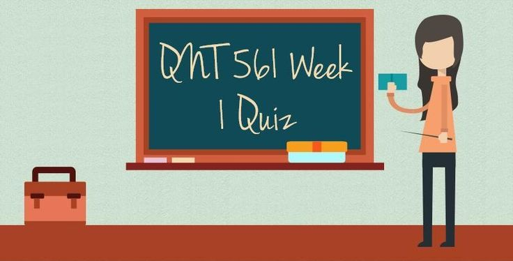 QNT 561 Week 1 Quiz (Questions and Answers)===========================================Grade on Business Statistics ExamFrequencyRelative FrequencyA: 90-100—0.07B: 80-8950—C: 65-7976—D: 50-6432—F: Below 5028—Total2001Question 1: Complete the table to the right:Question 2: An industrial