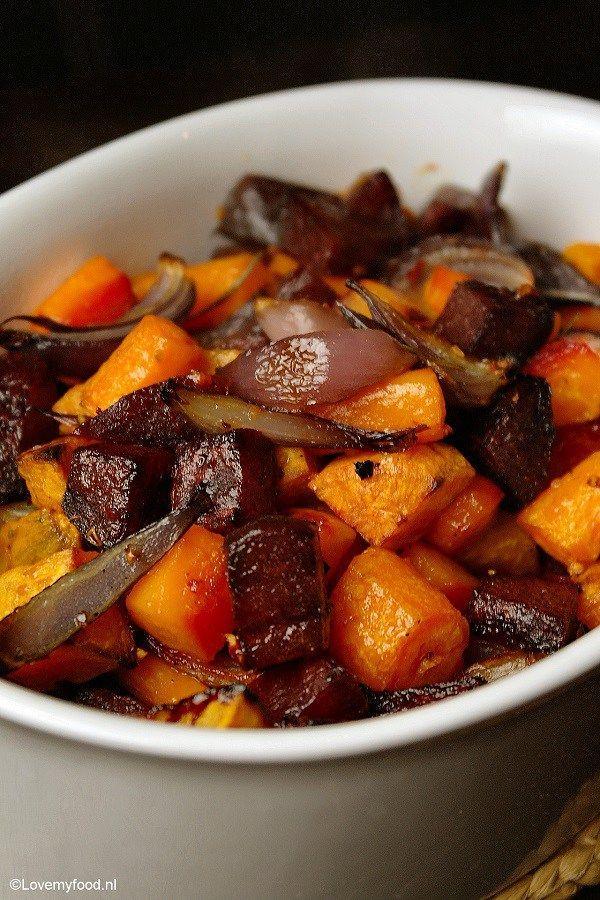 Winterse groenten uit de oven 2