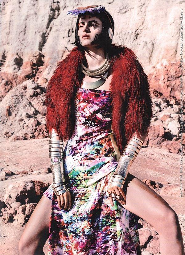 D.magazine ..Tribe Queen on Behance